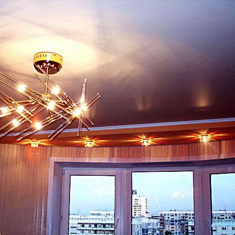 сатиновые натяжных потолков фото цены